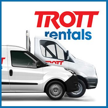 trott commercial vehicle rental logo