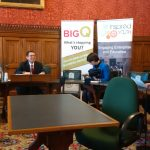 The Big Q in Parliament with Chloe Smith MP and Simon Wright MP