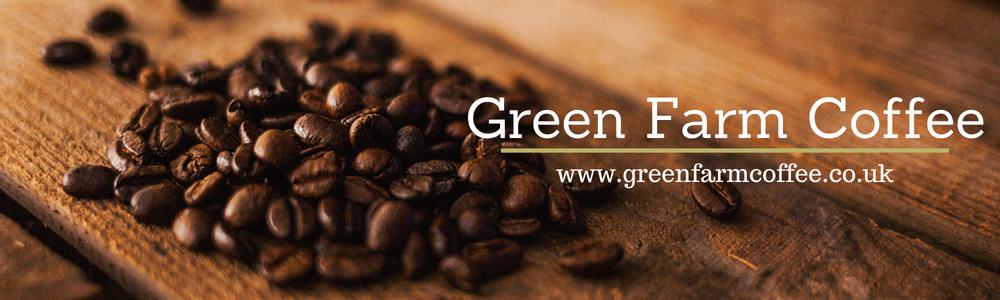 Green Farm coffee banner